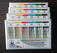 Штифты бумажные PEARL DENT 0.6 № 45-80