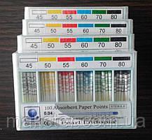 Штифты бумажные PEARL DENT 0.2 № 15-40
