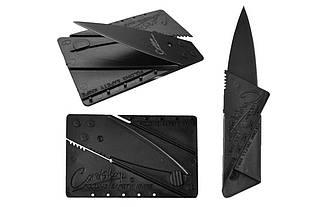 Карманный складной нож в виде кредитки Cardsharp Iain Sinclair Design
