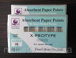 Штифты бумажные PEARL DENT F3 X-PROTYPE