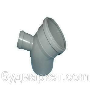 Колено сложное 110/50/45 вывод верх  для внутренней канализации