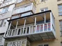 Расширение балконов, лоджий