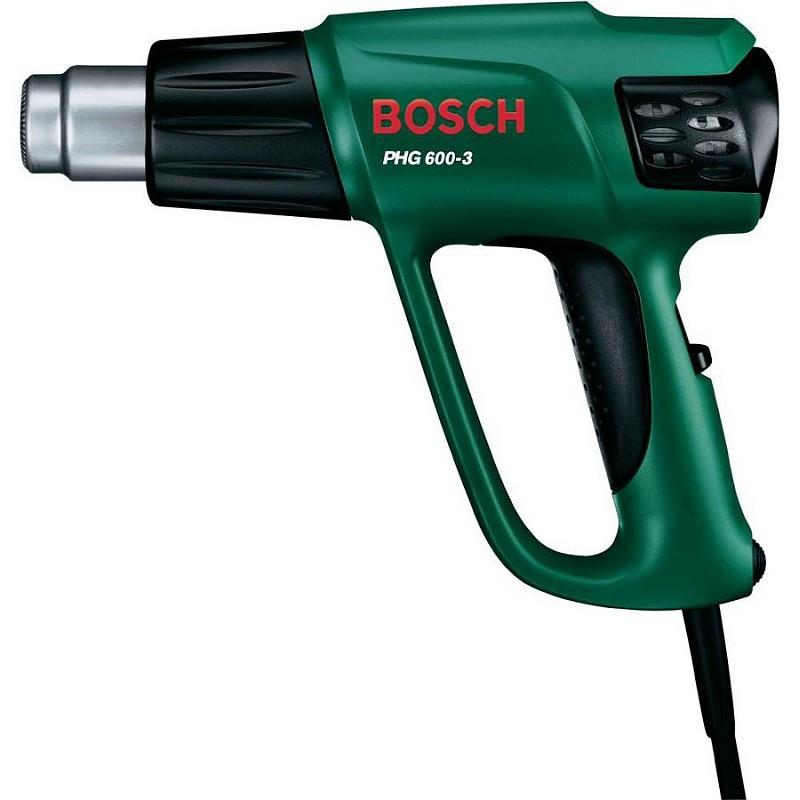 Фен строительный Bosch PHG 600-3 (термовоздуходувка), 060329B008