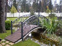 Мостик садовый