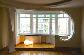 Совмещение балконов с комнатой