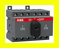 Выключатель нагрузки реверсивный ABB OT16F3C 16А 3-полюсный