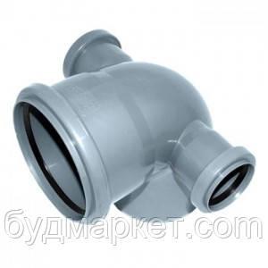 Колено сложное 110/50/45/135 для внутренней канализации
