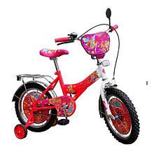 Велосипед дитячий 2-х колісний 18 Winx
