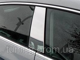 Хром накладки на стойки дверей  Volkswagen CC 2010-2012