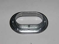 Люверс на тент металевий овальний 42х22мм
