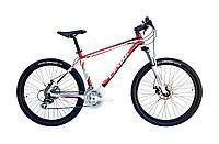 """Велосипед Leon XC PRO 26"""" AM DD рама-18"""" Al (SKD-LN-26-044-1) чёрно-красный"""