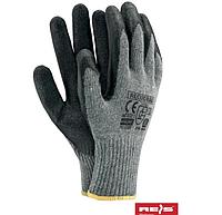 Перчатки трикотажные с резиновым покрытием, прочные с эффектом прилипаемости RECODRAG 12 шт.