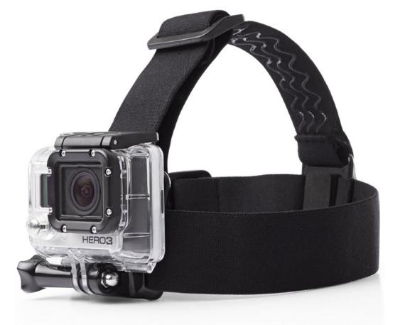 Крепление на голову для экшн камер SJCAM, GoPro, Xiaomi, AEE, Sony