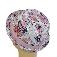 Шляпа детская котелок Индия розовая