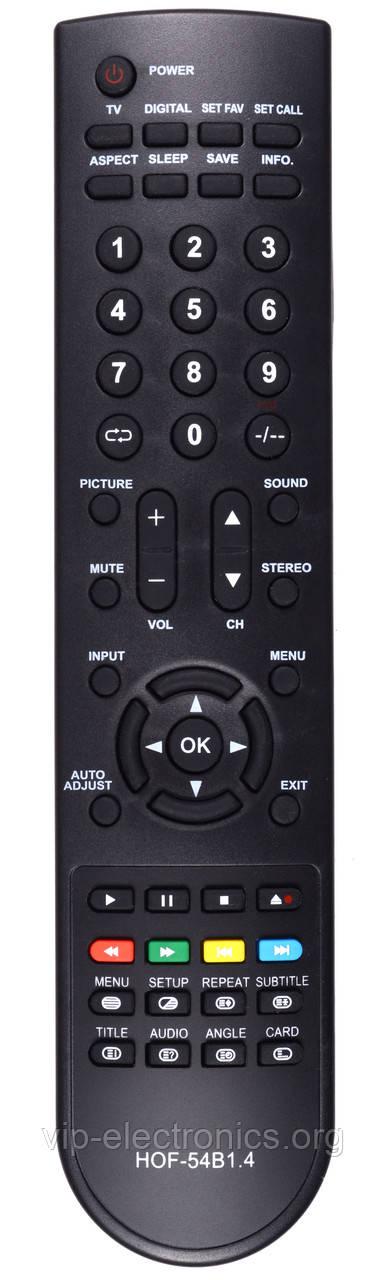 Пульт Elenberg  HOF-54B1.4 (TV,DVD) (CE)