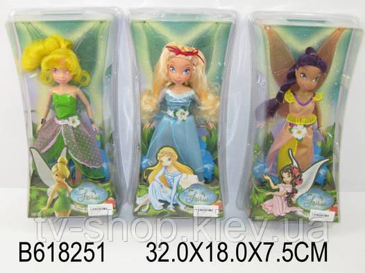 "Кукла Фея ""Tinker Bell"" фиолетовые волосы"