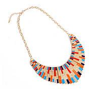 Ожерелье-воротник (разноцветное)