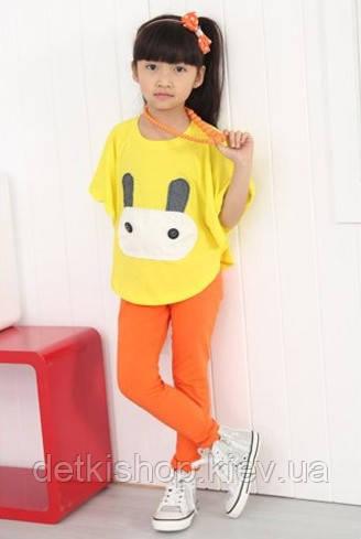 Детские леггинсы H&M (оранжевые)