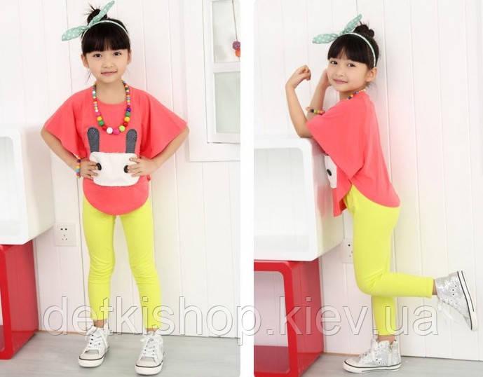 Детские леггинсы H&M (жёлтые)