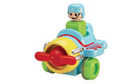 Инерционная игрушка Самолетик Tomy