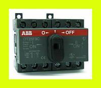Выключатель нагрузки реверсивный OT25F3C ABB 25А 3-полюсный