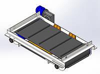 Магнитный саморазгружающийся сепаратор металла для ТБО