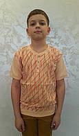 Красивая футболка на мальчиков 164 роста Мередианы