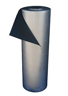 Пенополиэтилен Polifoam 3 мм  ламинированный металлизированной пленкой ВОРР (3003/ВОРР 1,1х50м рулон 55 кв.м)