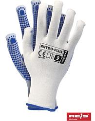 Перчатки с точечным покрытием ПВХ, для строительства RNYDO-Plus незаменимы в транспортной промышленности
