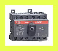 Выключатель нагрузки реверсивный OT63F3C ABB 63А 3-полюсный
