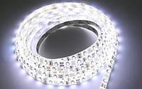 Светодиодная лента SMD 3528(2835) ip65 60д/метр ВЛАГОЗАЩИТА нейтральный белый