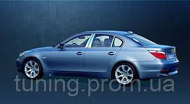 Хром накладки на дверные стойки 4 шт. BMW 5 серии 2004-2010