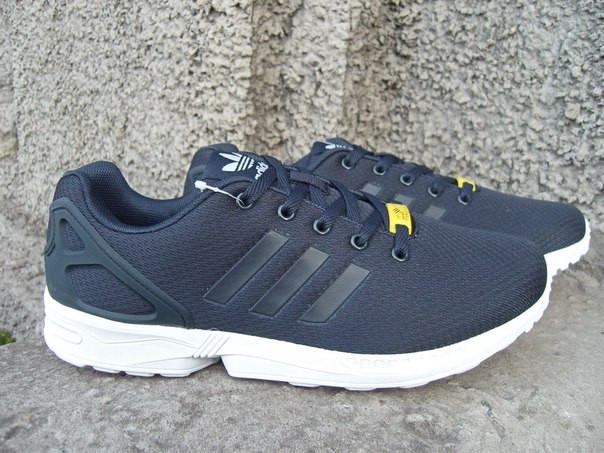 b2afabf6f12e Кроссовки мужские Adidas ZX Flux темно-синие (размеры 44)