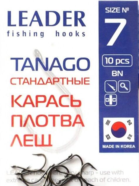 Крючки Leader TANAGO BN №7, 10 шт