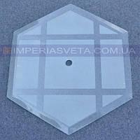 Плафон вставной, накладной для светильника, люстры IMPERIA стеклянный LUX-126163