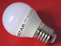 Лампа LED LEDSTAR 6W 510lm E27 нейтральный свет