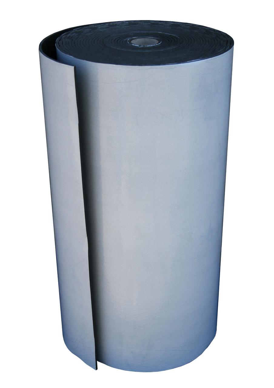 Пенополиэтилен Polifoam (Полифом) 4мм самоклеющийся (3004 1,0х25м с клейким слоем, рулон 25 кв.м)