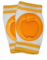 Наколенники для детей и малышей Оранжевые яблоки