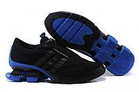 Кроссовки мужские Adidas X Porsche Design Sport BOUNCE S4 Black Blue беговые черно -синее
