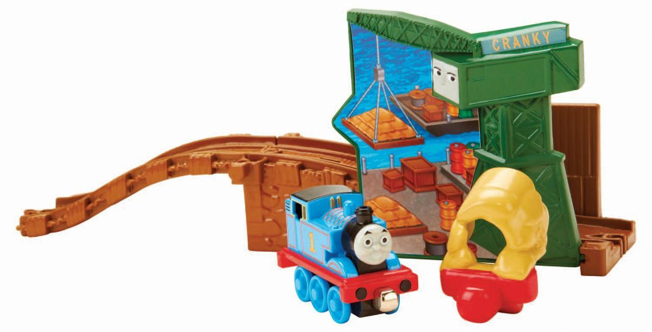 Набор Thomas the Train Томас и Кранки с дорогой  из серии Take -n-Play