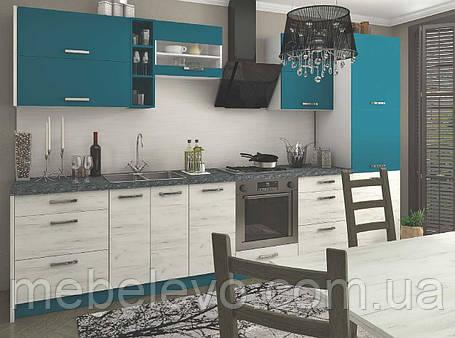 Кухня Шарлотта комплект 2м индиго Сокме  , фото 2