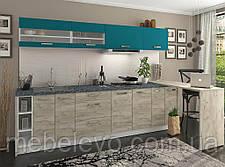 Кухня Шарлотта комплект 2м индиго Сокме  , фото 3
