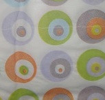 """Салфетки бумажные """"Круги разноцветные"""" 10 штук"""