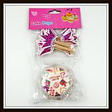 Бумажные формы (тарталетки) для выпечки кексов с украшением, фото 3