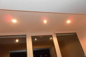 Освещение балконов