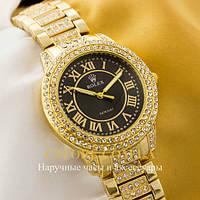 Кварцевые женские наручные часы БельгийскиеRolex Cosmograph Daytona gold black (05524)
