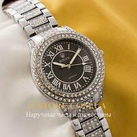 Наручные женские часы БельгийскиеRolex Cosmograph silver black (05528)