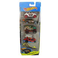 Hot Wheels Подарочные наборы автомобилей по 5шт №2