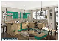 Кухня Шарлотта комплект 2м абсент Сокме