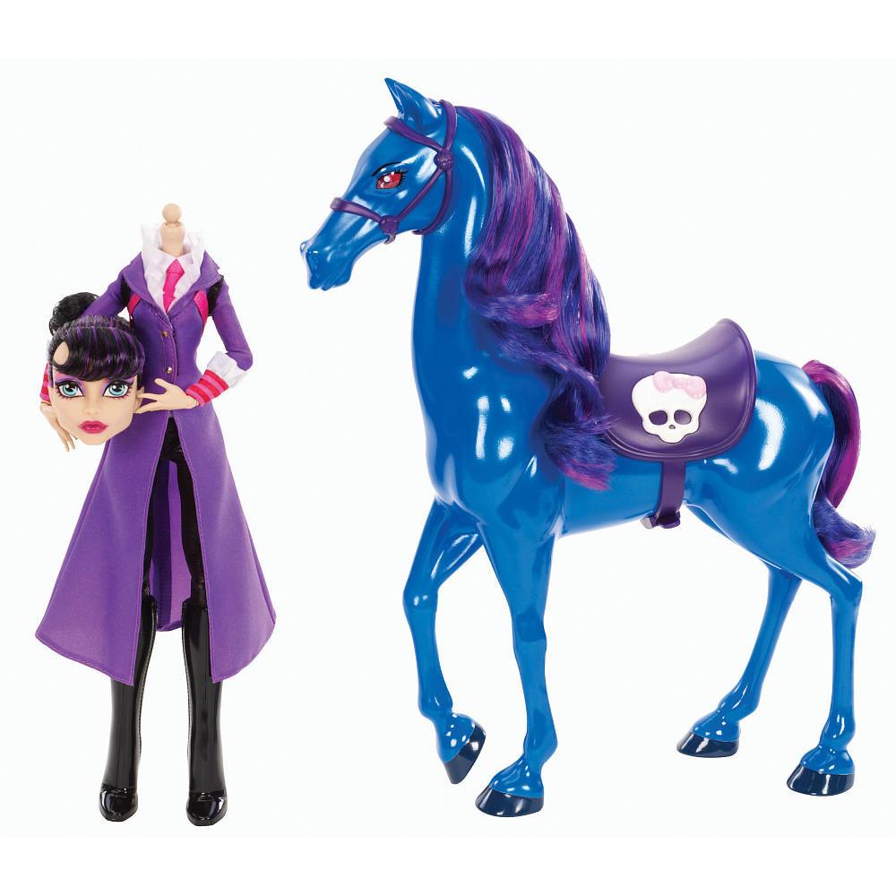 Monster High Директриса без Головы Бладгуд из серии Базовые куклы